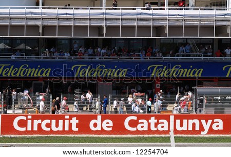 April 2008 F1 Grand Prix in Catalunya