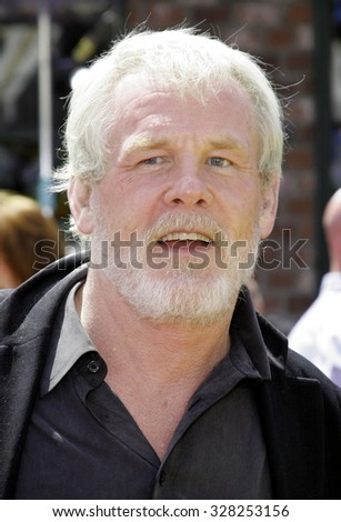 "April 30, 2006. Nick Nolte at the Los Angeles Premiere of DreamWorks' new computer-animated comedy ""Over The Hedge"" held at the Mann Village Theatre in Westwood, California United States."