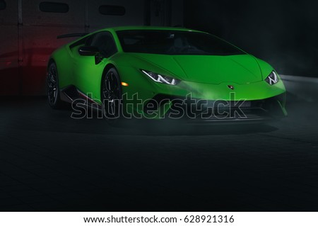 Vintage Green Car On Dark Background Stock Illustration 33586612 Shutterstock