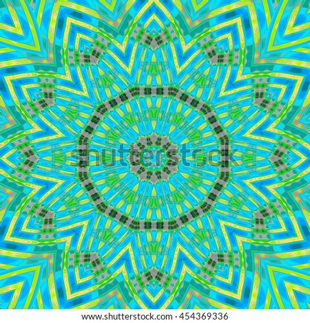 Aqua Blue mint green black webbed twirl twist background backdrop design pattern unique and very different macro up-close - stock photo