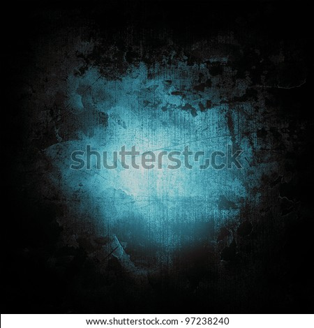 Aqua Green Abstract grunge texture background - stock photo