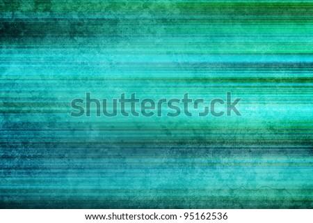 Aqua grunge stripy background - stock photo