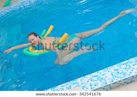 Professional Woman Swimmer Diving Inside Swimming Stock Photo 494647090 Shutterstock