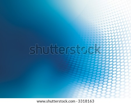 Aquamarine color on a abstract background - stock photo