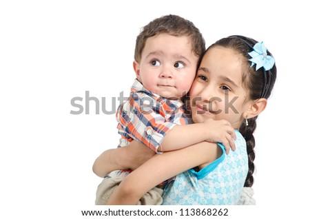 Arab Children - stock photo