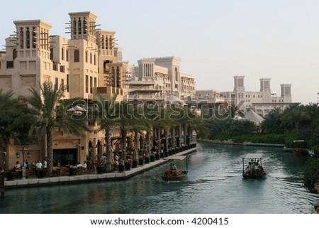 Arab Luxury Resort - stock photo