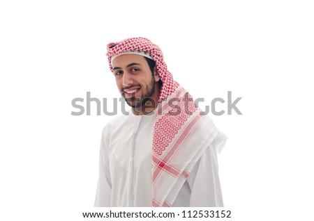 Arab Man - stock photo