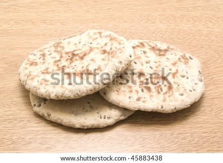 Arabic bread - stock photo