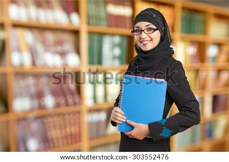 Arabic Student. - stock photo