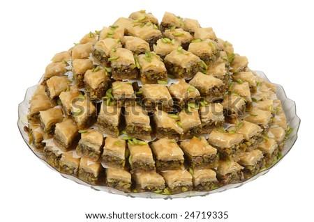 arabic sweets - stock photo