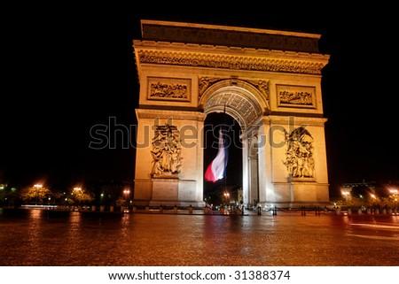 Arc de Triomphe II - stock photo