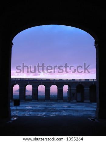 Arch - stock photo