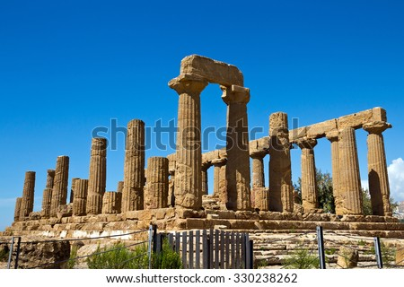 Archaeological Area of Agrigento - Temple of Juno, Sicily