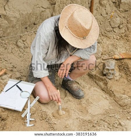 """an archaeologist at work essay The study of archaeology essay examples 1056 words 