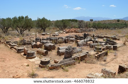 Archaeological Site at Aptera, Crete