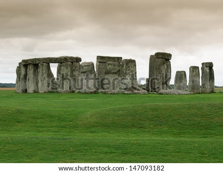 archaeological site of Stonehenge in Cornwall