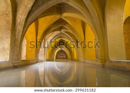 arched architecture - stock photo