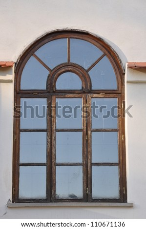 Arch window stock images royalty free images vectors for Arch window replacement