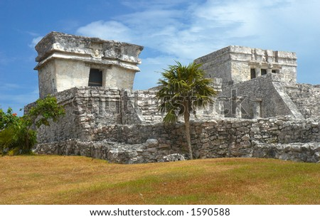 Archeological site of Tulum, Mexico