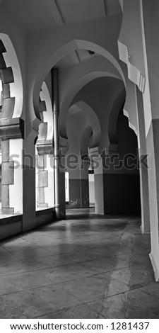 arches - stock photo