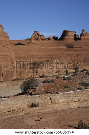 Arches National Park. - stock photo