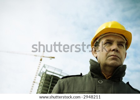 architect - stock photo