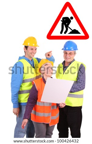 architects, business photo - stock photo