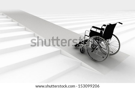 architectural barriers - stock photo