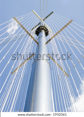 Architectural composition to Cities-brother Yalta - stock photo