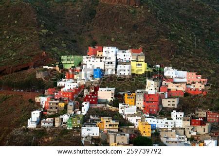 Architectural detail in Santa Cruz de Tenerife, Canary Islands, Spain - stock photo