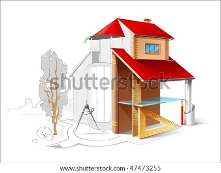Architectural Structure - stock photo