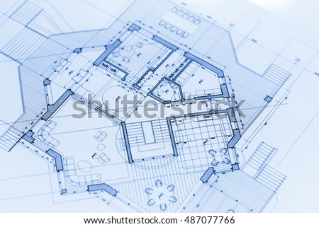architecture blueprints house plans - Blueprints For Houses