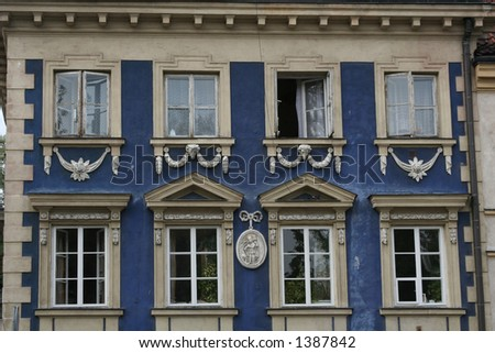 Architecture - details; windows