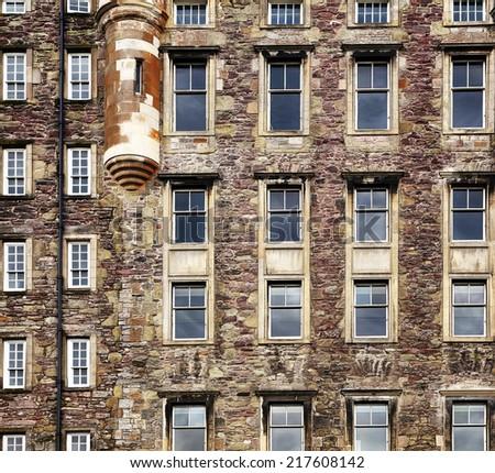 Architecture in Scotland - stock photo