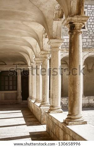Architecture in Zadar - stock photo