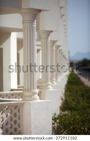 Architecture of balconies