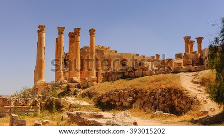 Architecture of Jerash, Jordan