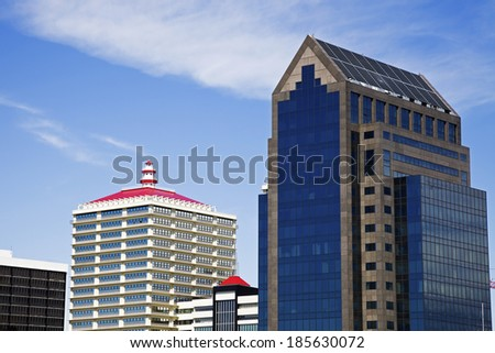Architecture of Louisville, Kentucky. - stock photo