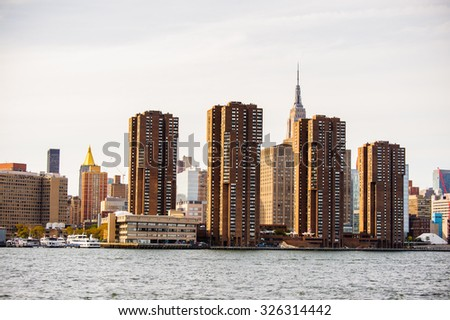 Architecture of Manhattan, New York City, United States of America