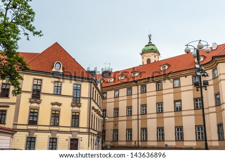 Architecture of the historic center of Prague, Czeh Republic