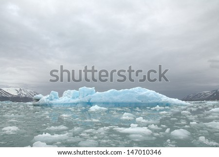 Arctic Iceberg - stock photo