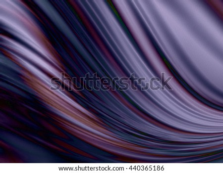 Are flowing down soft undulating folds of purple and violet shades  - stock photo