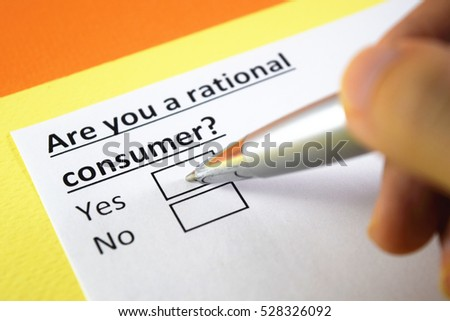 """consumer is rational Quick and easy loan repay just by """"min pay"""" watch out young consumers,  with such an attitude in loan borrowing, may find themselves."""