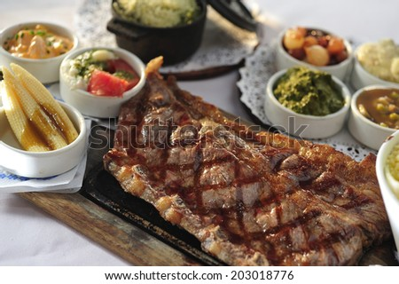 Argentinian beef steak stock photo for Artistic argentinean cuisine
