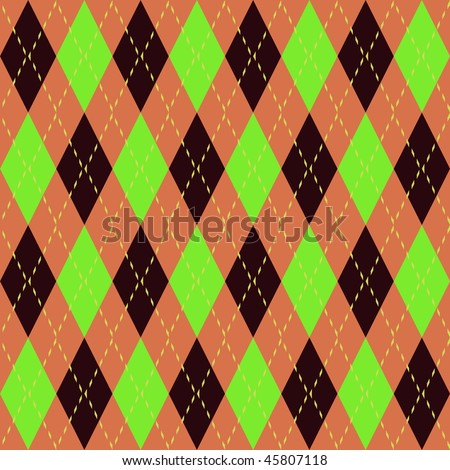 Argyle knit pattern seamless tiling background texture