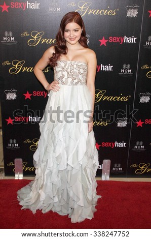 Ariel Winter at the 37th Annual Gracie Awards Gala held at the Beverly Hilton Hotel in Los Angeles, USA on May 23, 2012.