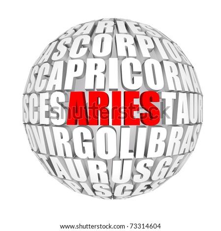 aries - stock photo