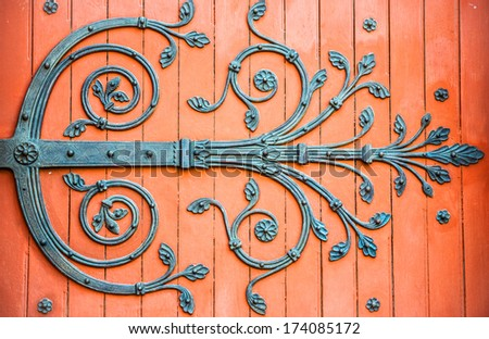 Arles (Bouches-du-Rhone, Provence-Alpes-Cote d'Azur, France) - Saint-Trophime church, the main portal - stock photo
