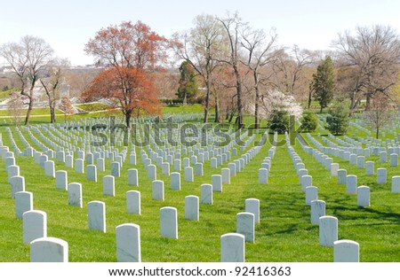 Arlington National Cemetery - stock photo