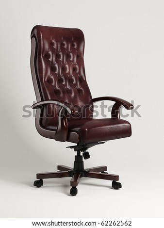Armchair with buttons, CG - stock photo